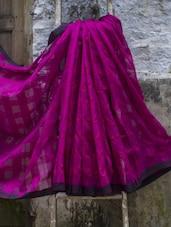 Box Weave Saree - Cotton Koleksi