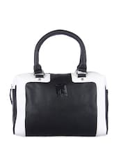Classic Black And White Tote - Eavan