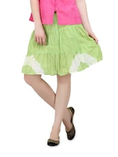 Light Green Short Skirt - Lalana