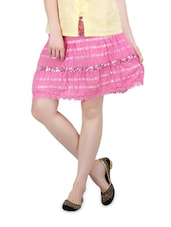 Pink Short Skirt - Lalana