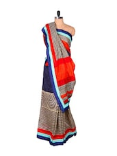 Multi Cotton Silk Saree - Riti Riwaz