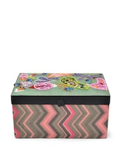 Olive Green Multifunctional Jewellery Box - Blissdrizzle