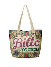Billo Ice-cream Print Tote Bag - The House Of Tara