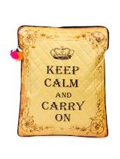 Keep Calm And Carry On' Laptop Sleeve Bag - The House Of Tara - 863531