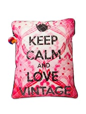 Keep Calm And Love Vintage' Laptop Sleeve Bag - The House Of Tara