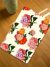 Floral Bunch Table Mats Set Of 12 Pieces-6  Tablemat + 6 Coaster) - Freelance