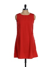 Sexy Red Casual Dress - Tops And Tunics