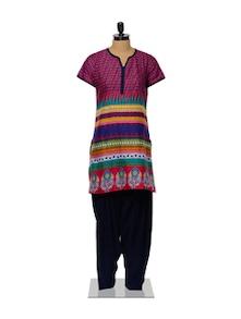 Colourful Kurta And Salwar Set - Ayaany