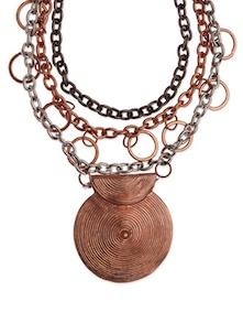 Multicolour Metallic Necklace - Fashion Essentials