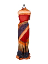 Gorgeous Printed Georgette Saree - Fabdeal