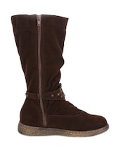Stunning Brown Boots - Stylistry