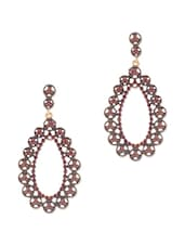 ANTIQUE TEAR DROP DANGLER EARRINGS - THE BLING STUDIO