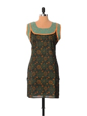 Printed Cotton Kurti - Little India