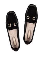 Black Slip On Casual Shoes - Soft & Sleek