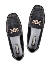 Black Slip On Casual Shoes - Soft & Sleek