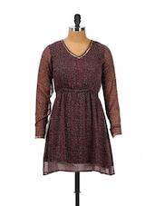 Backless Floral Dress - CHERYMOYA