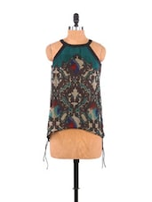Ethnic Print Halter Top - Free Spirited