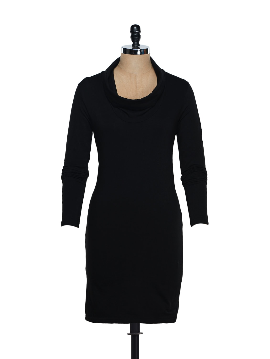 Black Dress With Long Sleeves - Eavan