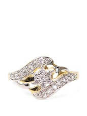 Fancy American Diamond Ring - Savi