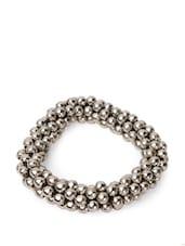 Bracelet With Steel Balls - Savi