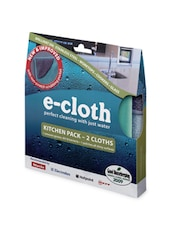 Kitchen Cleaning Cloth Pack For Worktops And Cooker - E-cloth