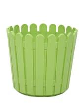 Solid Green Round Window Planter - EMSA