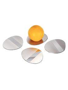 Stainless Steel Coaster Set Of 4 - Arttdinox