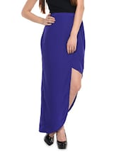 Blue Show-off Maxi Skirt - Miss Chase