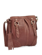 Rockstar Brown Sling Bag - Phive Rivers