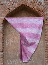 Rose Pink And White Chikankari Saree - Ada