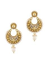 Enthralling Dangler Earrings - Voylla