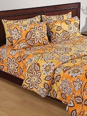 Floral Print Double Comforter - HOUSE THIS