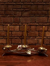 Leaf And Berries Candle Holder - The Yellow Door