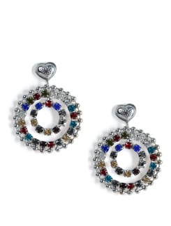 Circular Dangler Earrings - Tribal Zone