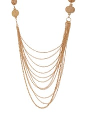 Gold And Black Bead Necklace - Xpressionss