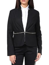 Black Cotton Jackets - By