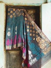 Multicoloured Art Silk Banarasi Saree - BANARASI STYLE