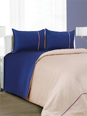 Set Of 1 Double Super King Size Bed Sheet, 2 Pillow Cover And 1 Duvet Cover - Spread - 925003