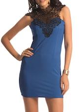 Blue Lace Turtle Dress - PrettySecrets