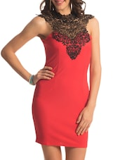 Coral Lace Turtle Dress - PrettySecrets