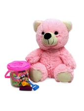 Teddy Soft Toy And Clay Combo Gift Set - Gifts By Meeta