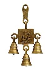 Antique Brass Divine Bell - Gifts By Meeta