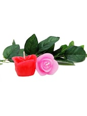 Rose Embossed Candles - Gifts By Meeta