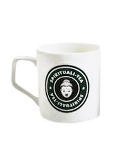 White Spirituali-tea Cups (Set Of 4) - EK DO DHAI