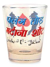 Mardana Shot Glass Set Of 2 - EK DO DHAI