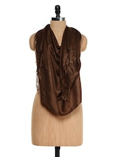 Brown Pashmina Stole - Awesome