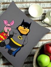 Winnie The Pooh As Batman Cushion Cover - Stybuzz