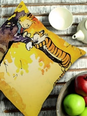 Calvin And Hobbes Cushion Cover - Stybuzz