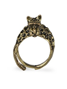 The 3D Leopard Ring - Fashionography