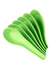 Green Soup Spoon (Set Of 6) - Signoraware